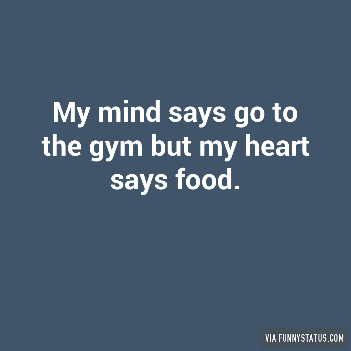 how to change my mind about food