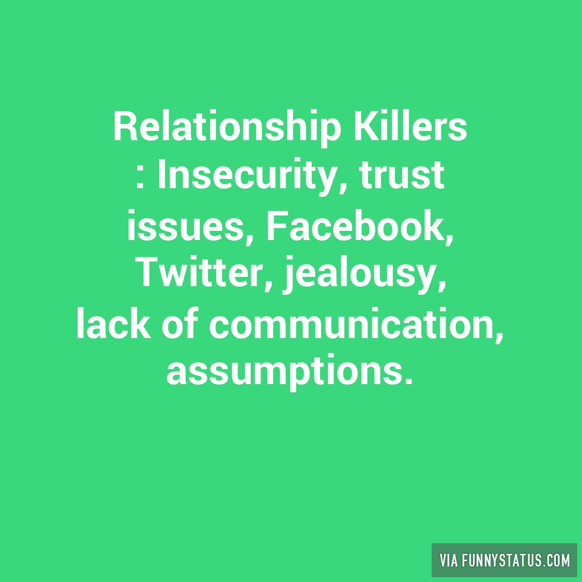 insecure meaning in relationship facebook