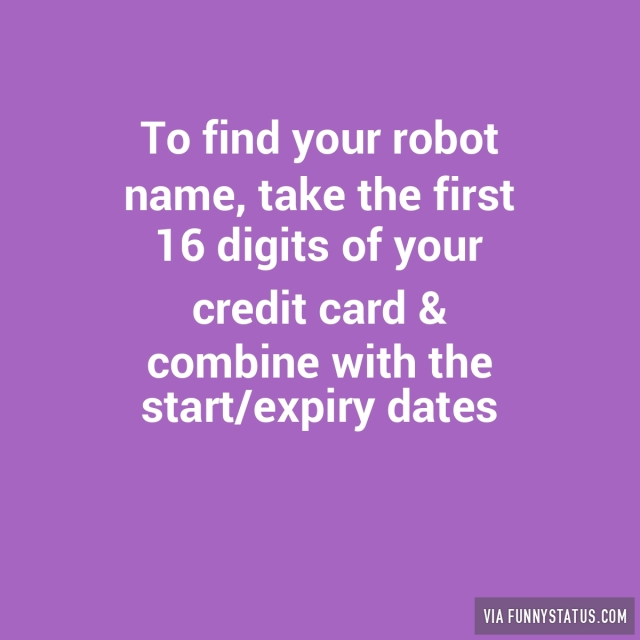 Robots Archives Funny Status