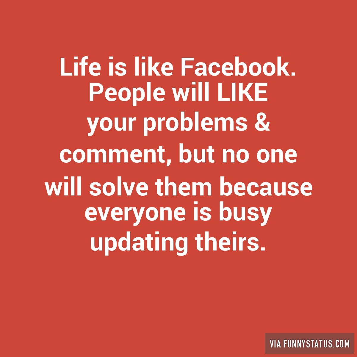 Cool facebook status symbols images symbol and sign ideas life is like facebook people will like your problems funny status buycottarizona biocorpaavc