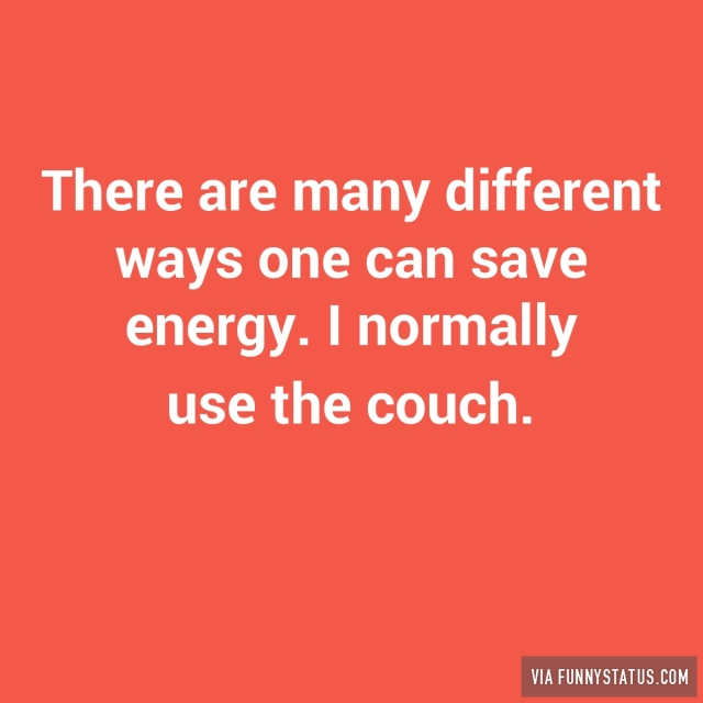 There are many different ways one can save energy for Ways you can save energy