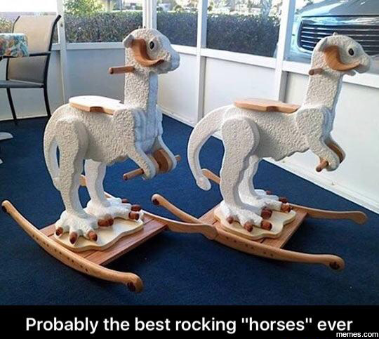 "The ""rocking horse"" for star wars fans"
