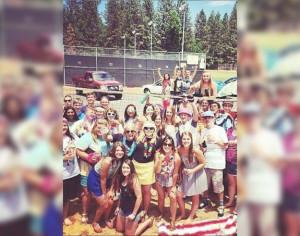 Parking Lot Beach Party