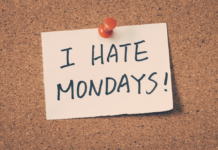 I Hate Mondays Note