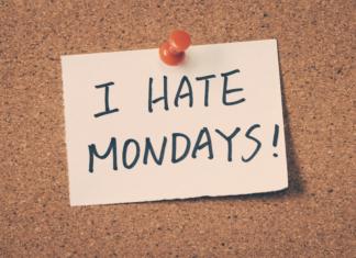 I Hate Mondays Note