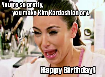 Kim Ugly Crying meme