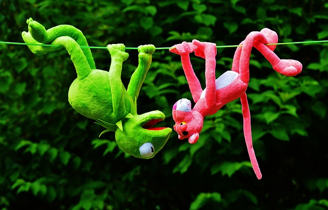 kermit the frog and pink phanter
