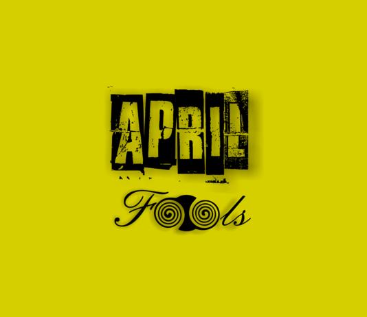 April Fools Signage